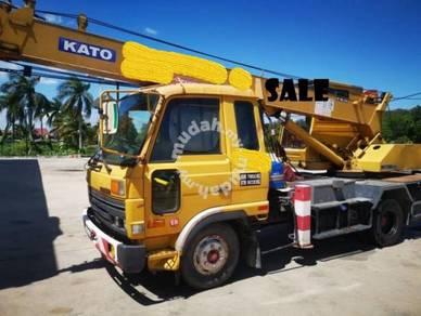 Mobile crane 7 tons