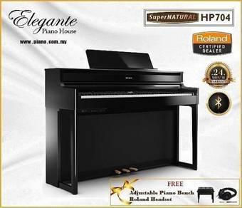 Roland HP-704 Pe Hybrid Digital Piano