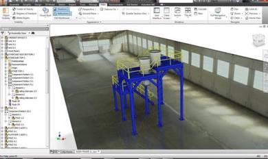 Platform 3D design - Design and build