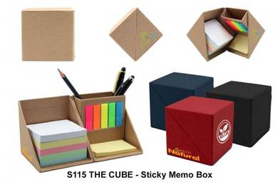 The CUBE Sticky MEMO Box