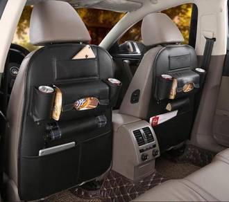 O F F E R Leather Backseat organizer (BLACK)
