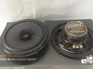 Branded ad car speaker mid universal semua kereta