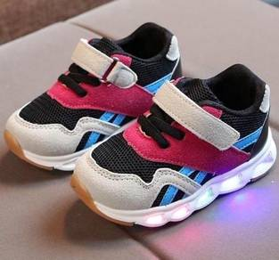 0319 COLORFUL LED LiGHT SNEAKER SHOES FOR BABY