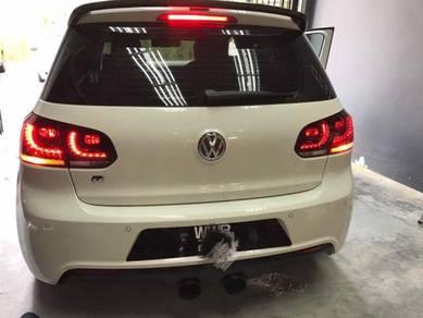 Volkswagen MK6 golf taillamp tail lamp bodykit