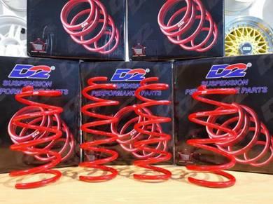 Promosi D2 Sport Spring Lowered untuk Proton Iriz