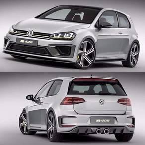 Volkswagen golf 7 r 400 series bodykit bumper pp