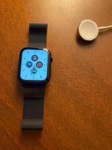 Apple watch series 5 44mm Black Stainless Steel