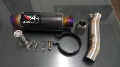 Ekzos Exhaust austin racing honda CBR 500 pnp