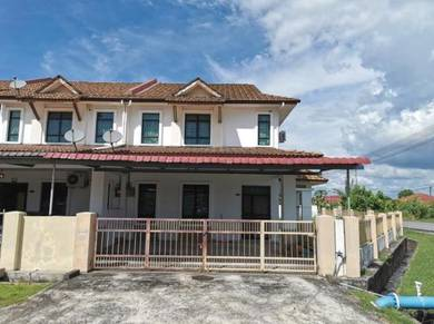 Double Storey Terrace Corner at Desa Pujut 2, Permyjaya