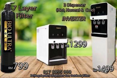Air Penapis Water Filter Dispenser VCV3