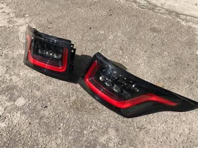 Range Rover sport facelift tail lamp