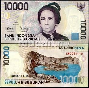 INDONESIA 10000 RUPIAH 1998 2001 unc