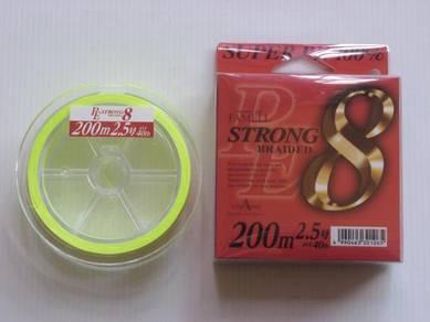 Yamatoyo Strong 8 Super PE 40LB Fishing Line