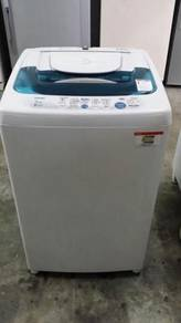 Fully Auto 6.5kg Washer Mesin Basuh Top Toshiba