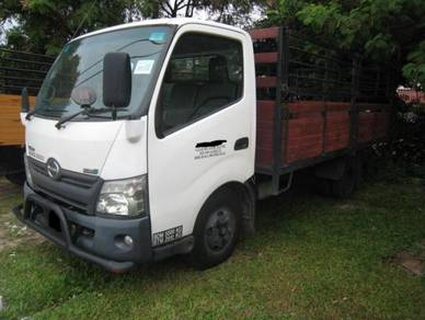 Hino WU710 Yr 2012 Kargo With Railing Steel