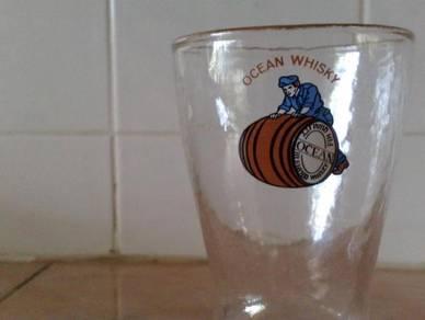 Cawan ocean boot glass cup