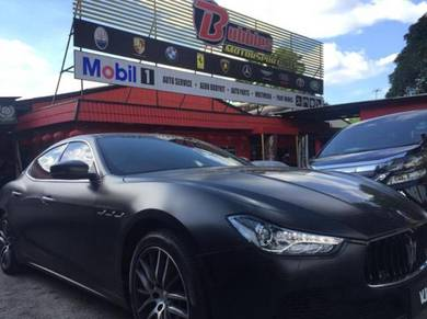 Maserati engine service diagnostic setting