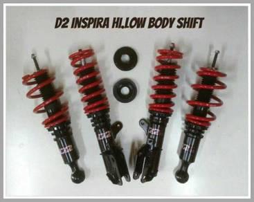 D2 adjustable hi/low bodyshift for lancer inspira