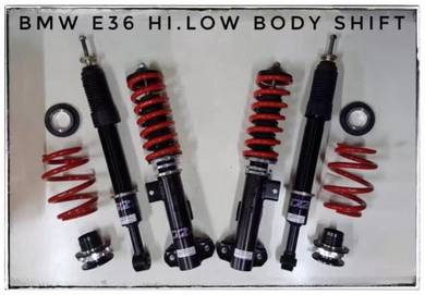 D2 adjustable hi/low bodyshift for bmw e36