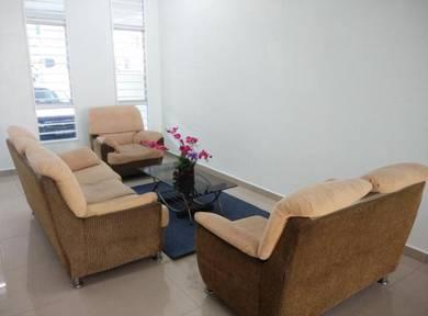 Harga runtuh: bilik sewa Bangi, master, balcony, private bathroom, CS