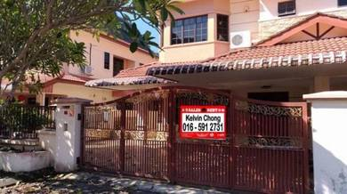 Below Market Value Double Storey Semi D at Garden Villa, Tambun, Ipoh