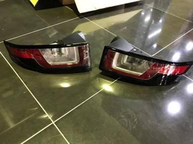 Range Rover evoque facelift tail lamp