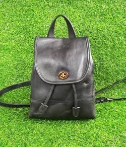 Ori COACH USA full leather backpack kueii