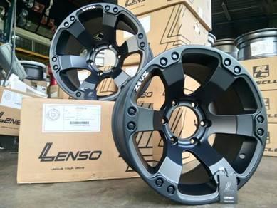 Lenso zeus 12 16inc rim for hilux ranger triton