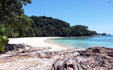 Pakej Percutian 3H2M Pulau Kapas, Terengganu