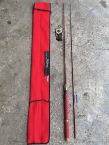 Bossna Bait Master Red Limited Fishing Rod Joran
