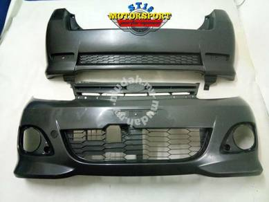 Front and rear bumper viva elite