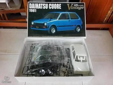 1-24 Daihatsu mira Cuore 1981 car model
