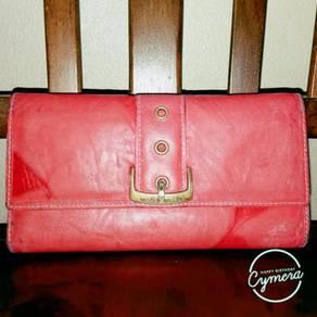 Wallet Leather Nicole Miller
