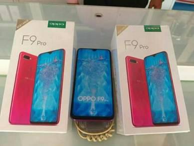Oppo f9 pro latest model new set 100% orio