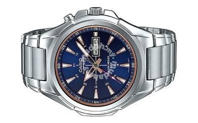 Casio Men Day Date illuminator Watch MTP-E200D-2A2