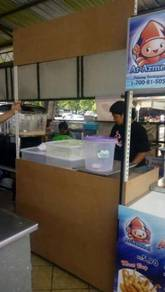Stall Burger With Roller Type C ( Boltless )