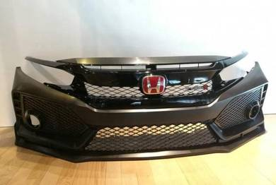 Honda civic fc type r front bumper set new pp