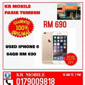 Like-New Iphone -6- 64Gb