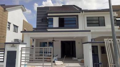 Diamond blue tinted protection rumah USA Frosted