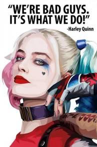 Poster HARLEY QUINN POP ART CC 2