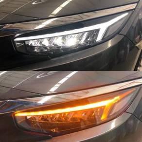 Honda Civic Fc 16-20 Led Head Lamp V3