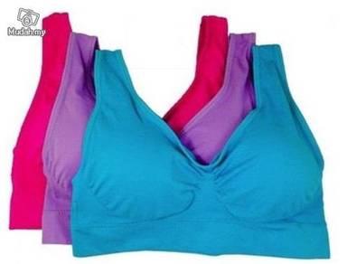 Quality Genie Bra classic colour pastel 3 Pcs Set