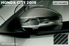 Honda city jazz 2014 carbon side mirror cover