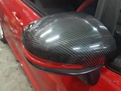 Honda brv carbon fibre side mirror cover carbon