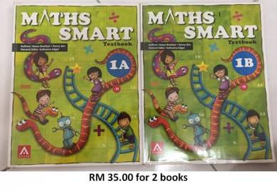 Maths Smart Textbook 1A &1B