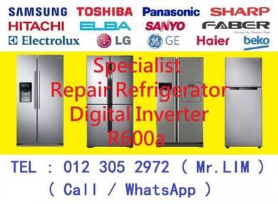 REPAIR : Refrigerator / MEMBAIKI : Peti Sejuk