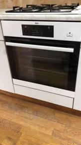 AEG electric oven and FAGOR Gas hob Set
