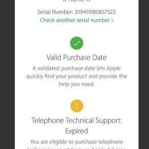 Iphone x (256) white