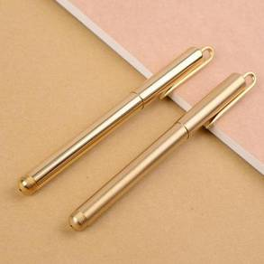 Pure Brass Pen 12cm | Pen Tembaga