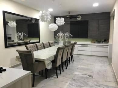Renovated & Furnished: 2.5sty Superlink, Bukit Wangsamas, Wangsa Maju